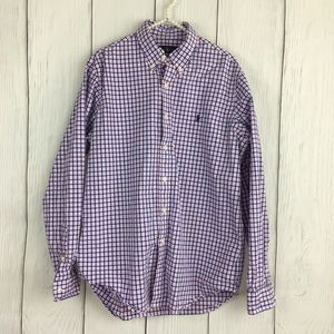 Ralph Lauren button down shirt, blue label